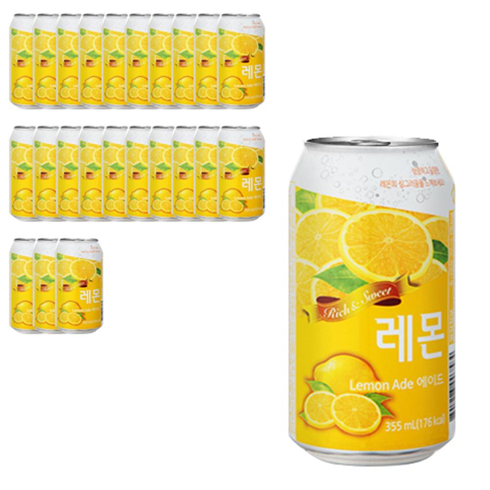 일화 레몬에이드, 355ml, 24개