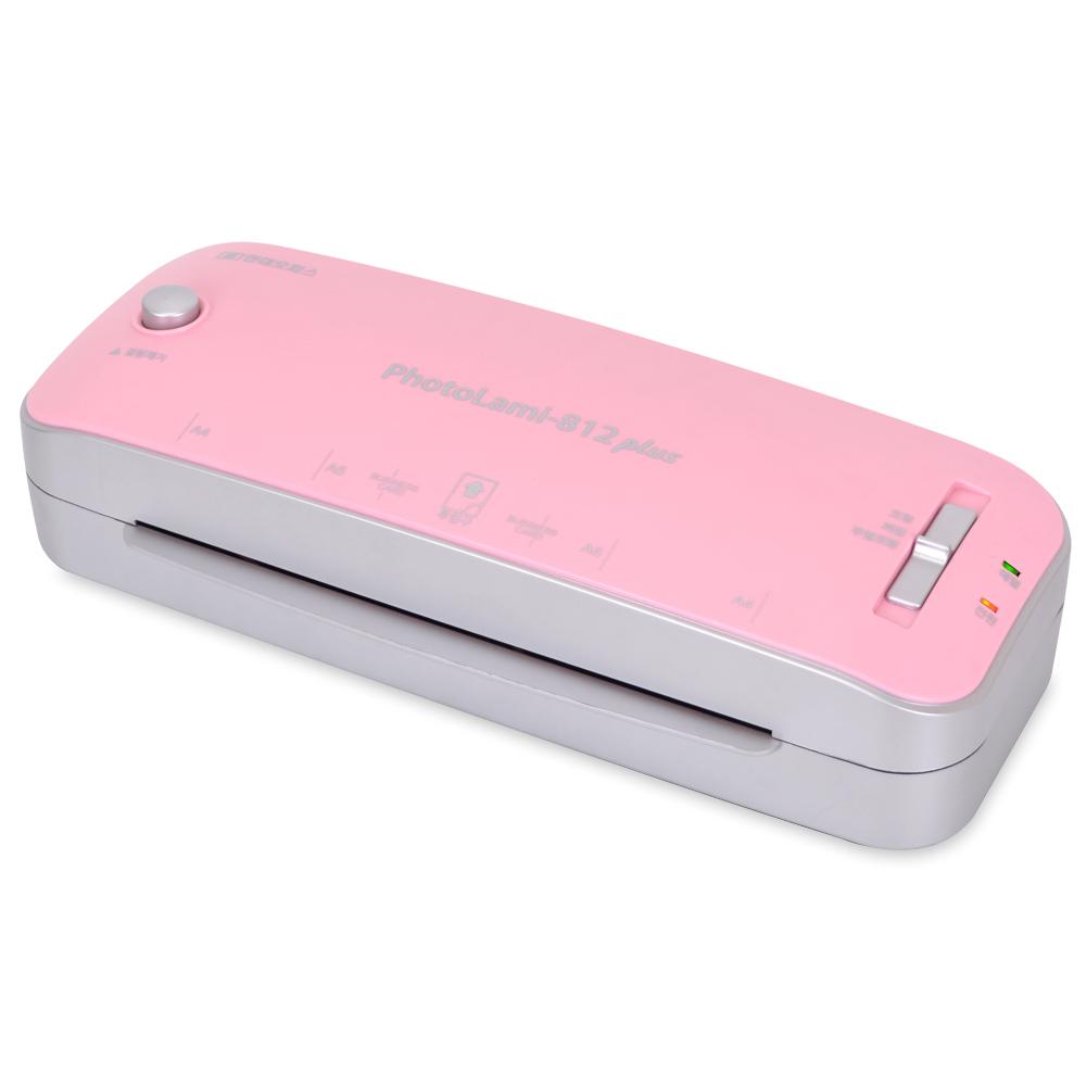 현대오피스 실속형 코팅기 PhotoLami-812 Plus Pink, A4