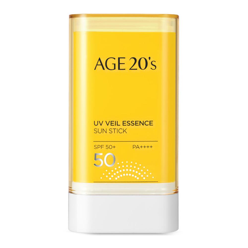 에이지투웨니스 UV 베일 에센스 선스틱 SPF50+ PA++++, 19g, 1개