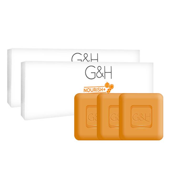 암웨이 G&H 너리쉬+ 컴플렉션바 비누 3p, 250g, 2개
