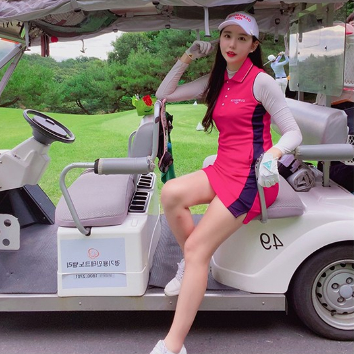 글렌뮤어 여성용 골프 스테피 민소매 원피스