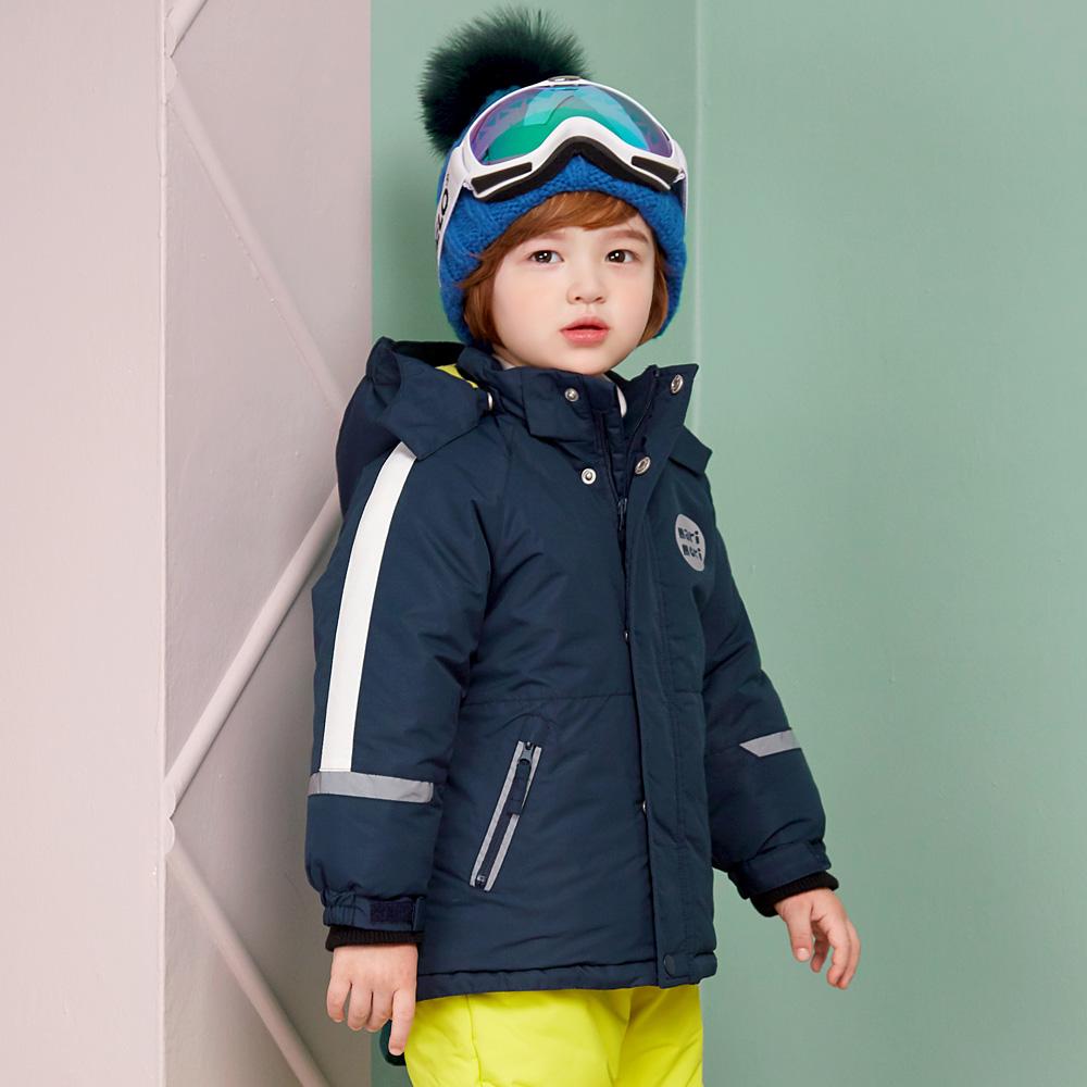 마리앤모리 아동용 푸딩 컬러 스키점퍼