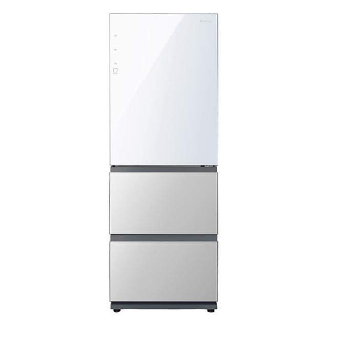 위니아대우 클라쎄 컬러글라스 김치냉장고 ERKQ37EPWGT 328L 방문설치