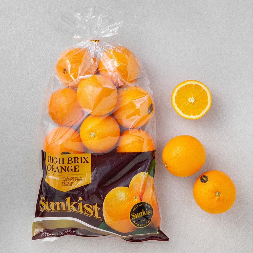 썬키스트 고당도 오렌지, 2.5kg, 1개