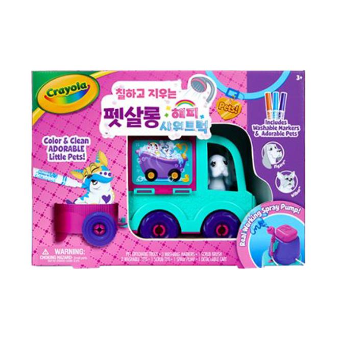 크레욜라 펫살롱 해피샤워트럭 시즌2 컬러마카세트, 1세트