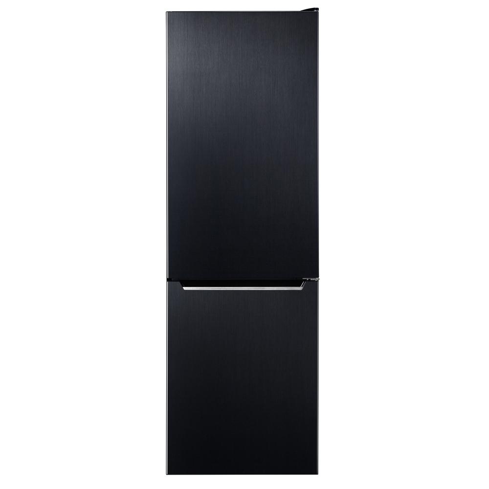 캐리어 클라윈드 콤비 냉장고 157L 방문설치 블랙메탈, CRF-CD157BDC