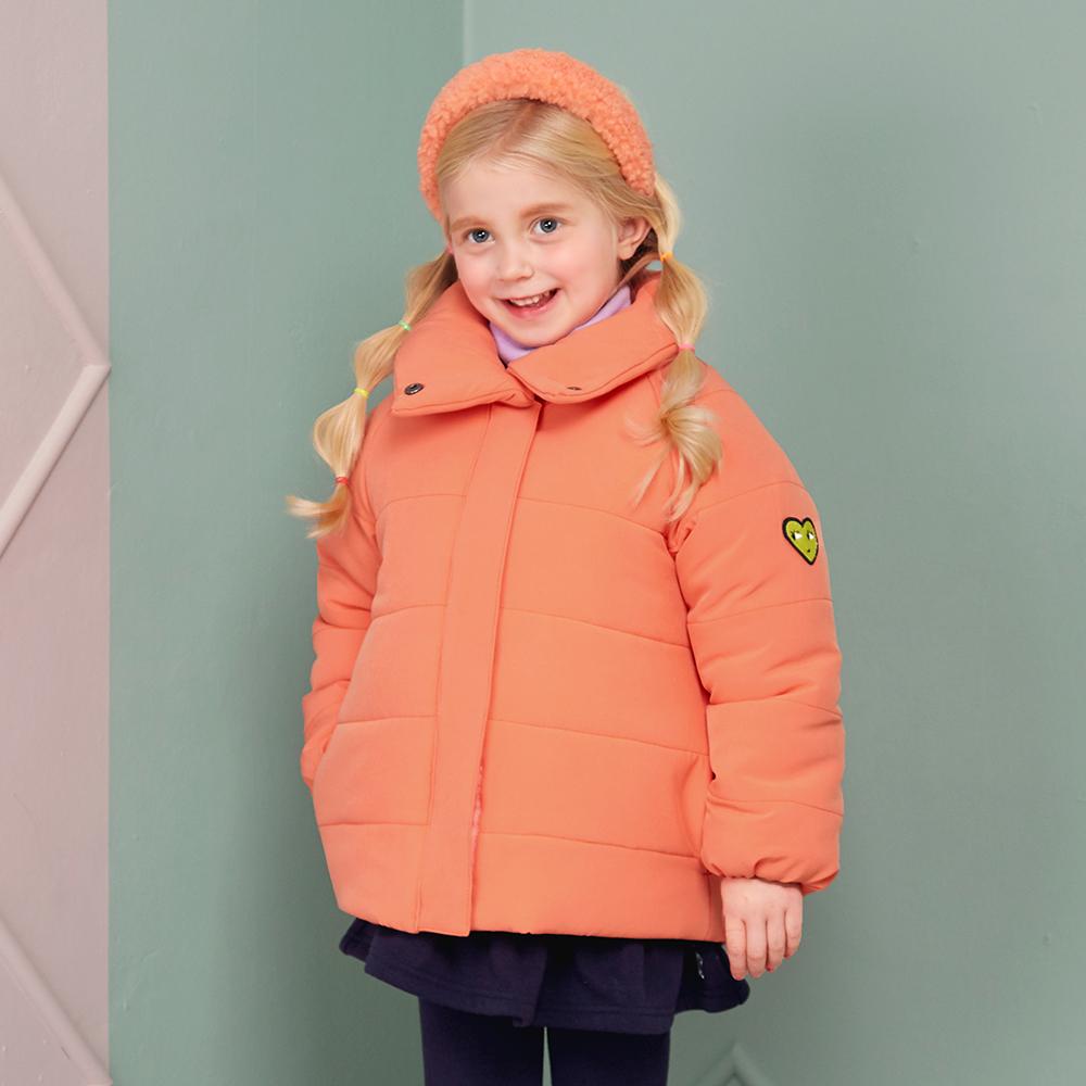 마리앤모리 아동용 하트 컬러 숏패딩 점퍼