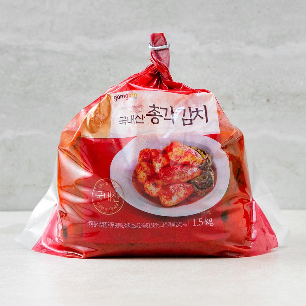 곰곰 국내산 총각 김치, 1.5kg, 1개