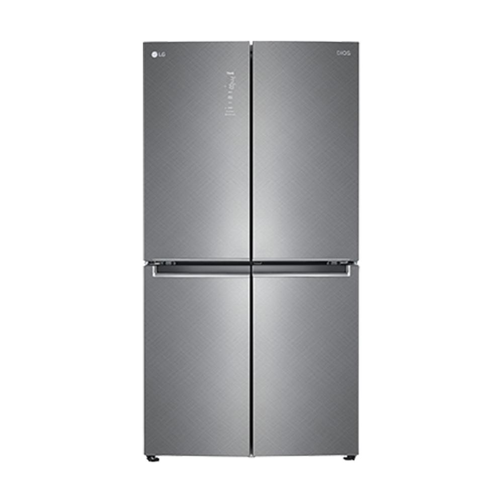 LG전자 디오스 매직스페이스 양문형 냉장고 F873SN35E 870L 방문설치