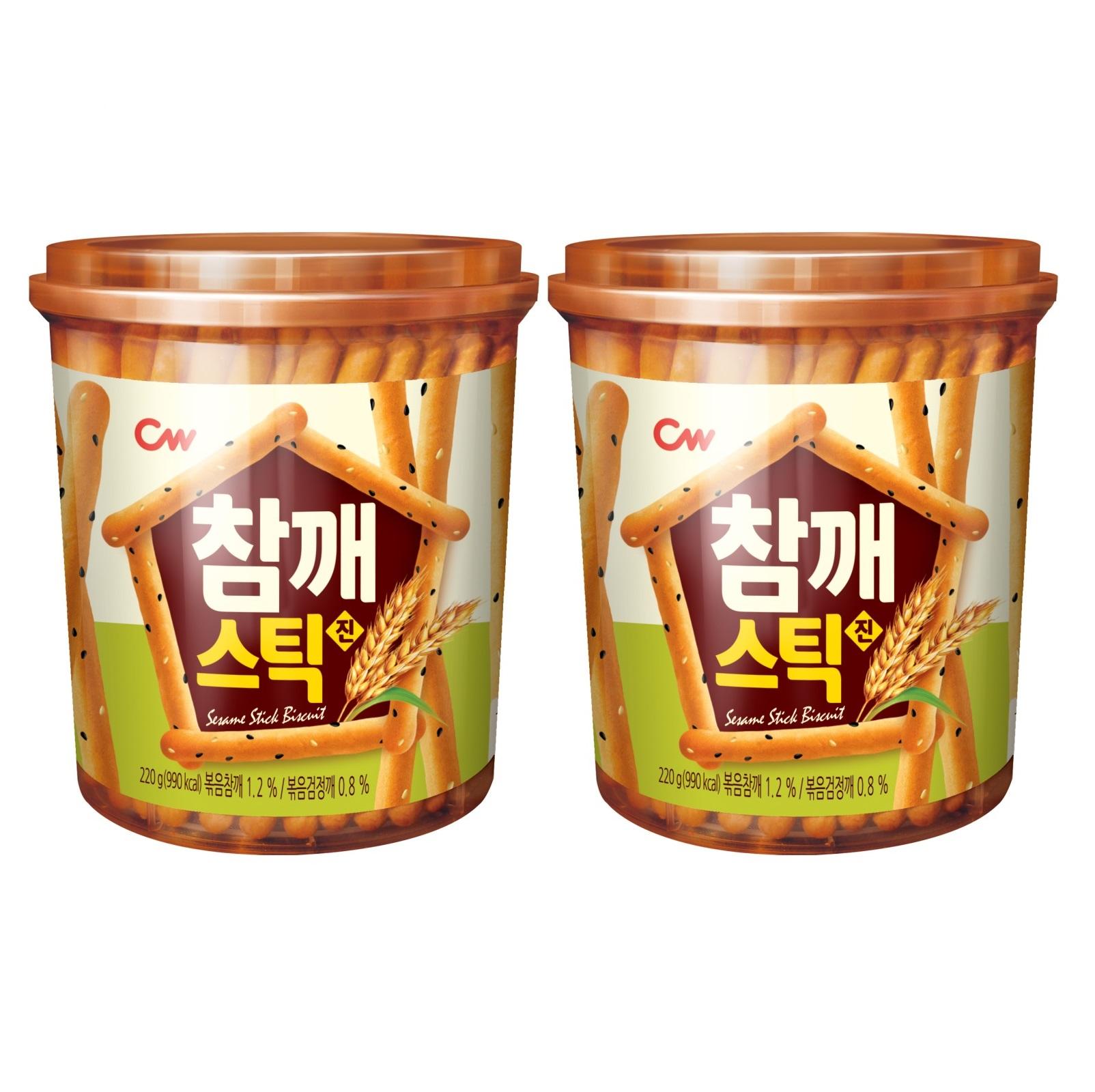 [아기과자] 청우 참깨스틱 220g 2개 - 랭킹5위 (5440원)