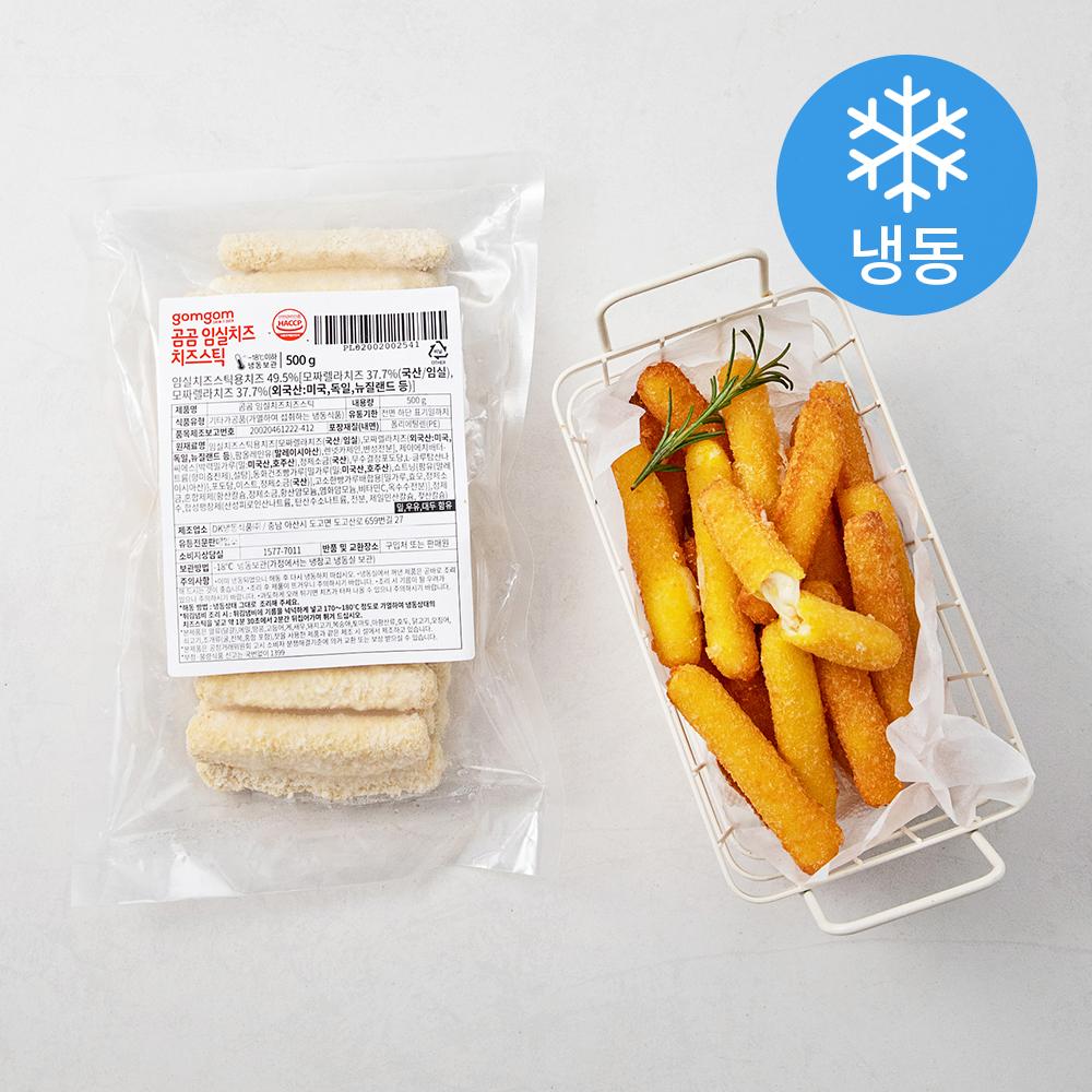 곰곰 임실치즈 치즈스틱 (냉동), 500g, 1개