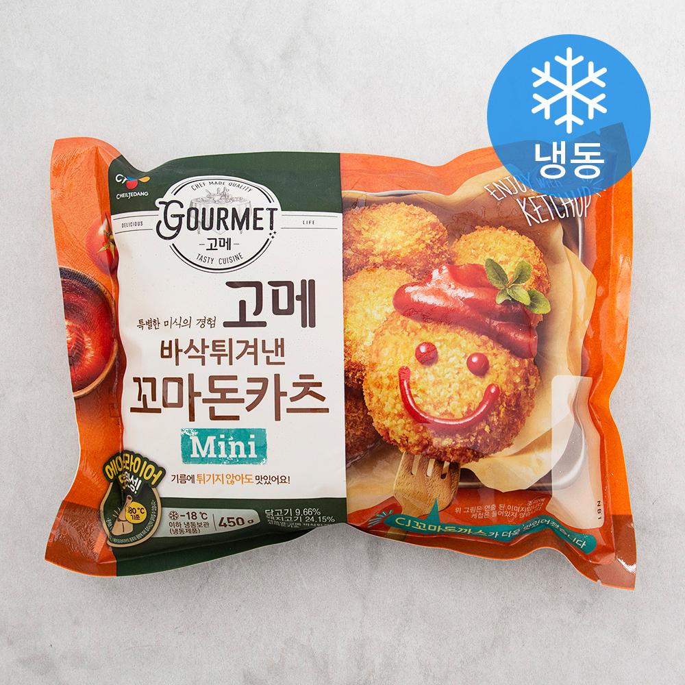 CJ제일제당 바삭튀겨낸 꼬마돈카츠 (냉동), 450g, 1개