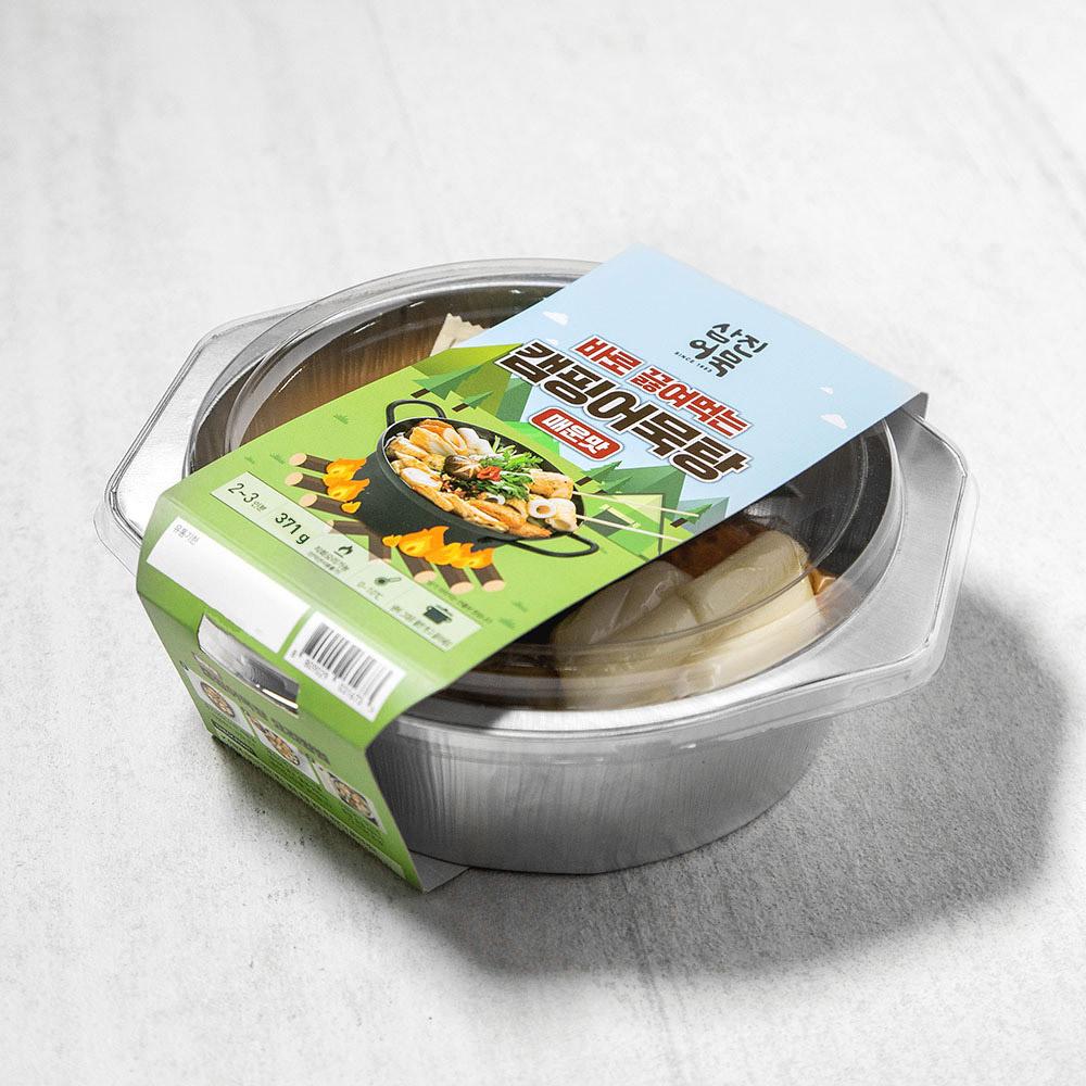 삼진어묵 캠핑 어묵탕 매운맛, 371g, 1개
