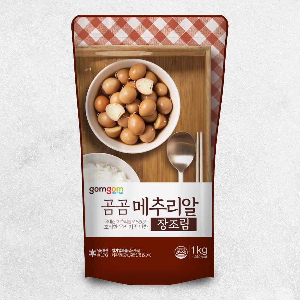 곰곰 메추리알 (냉장), 1kg, 1개