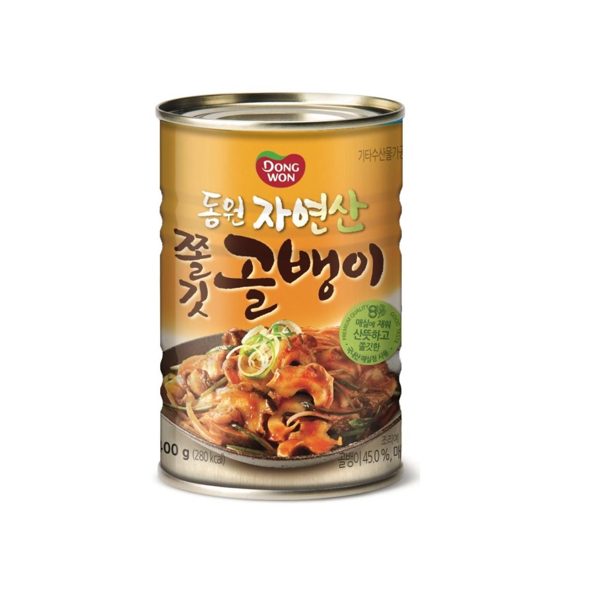 동원 쫄깃 골뱅이 원터치 통조림, 400g, 1개
