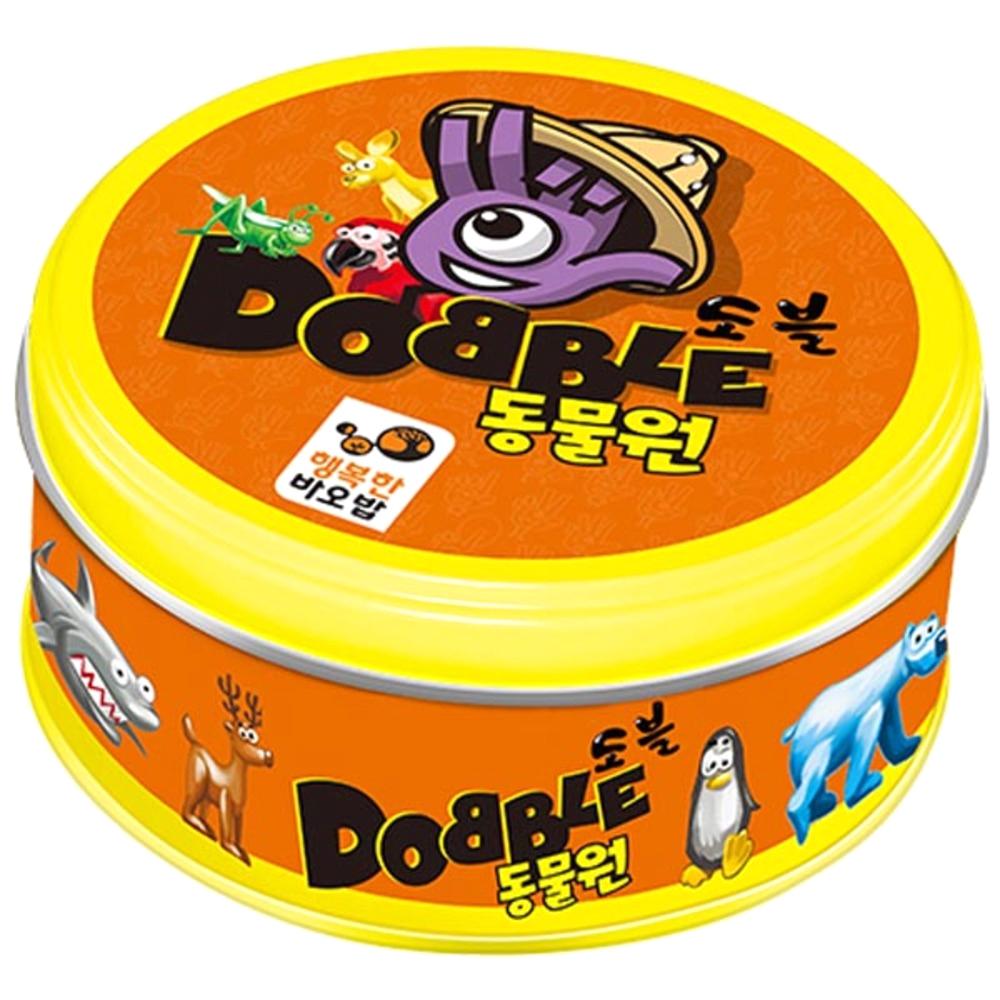 행복한바오밥 도블 동물원 순발력게임, 혼합 색상