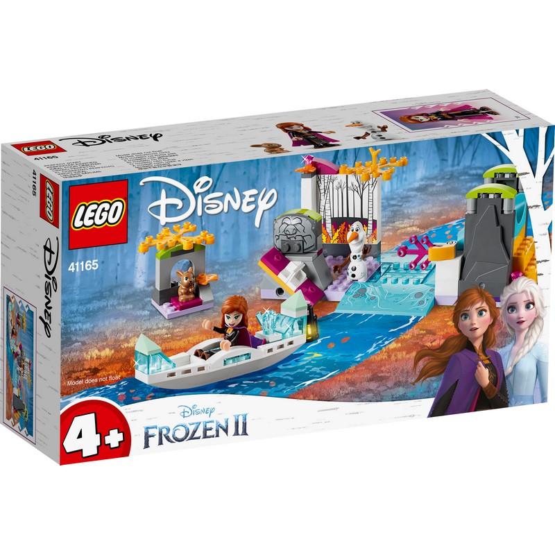 레고 디즈니프린세스 41165 겨울왕국2 안나의 카누 탐험, 혼합 색상