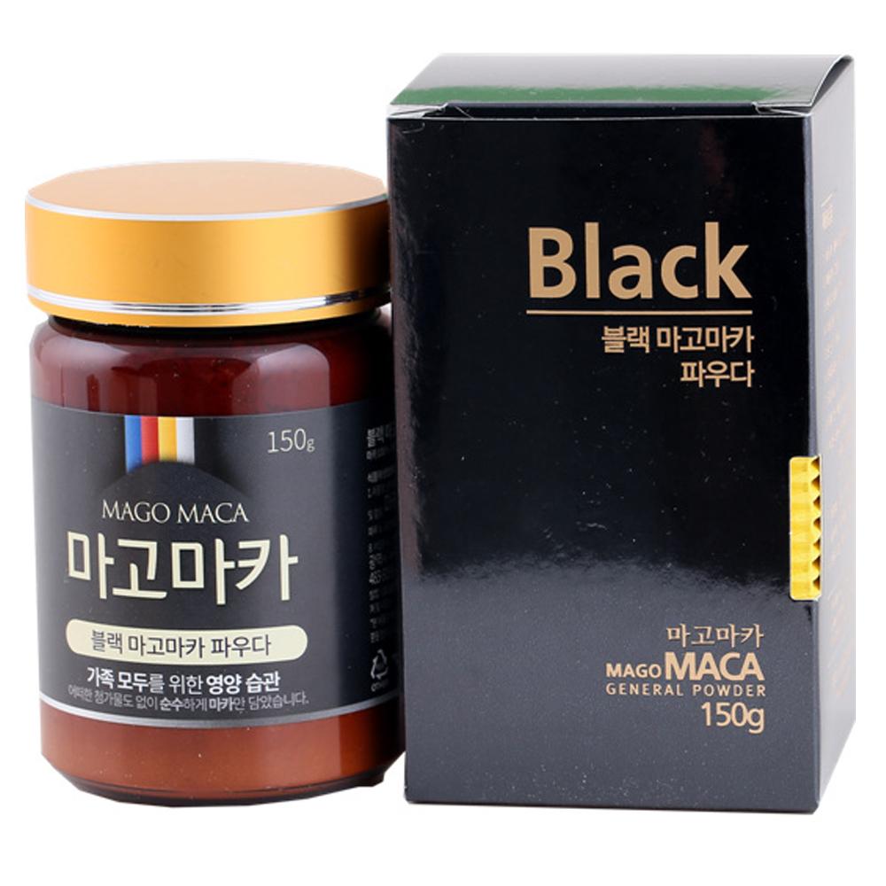 마고마카 블랙 마고마카 파우더, 150g, 1개
