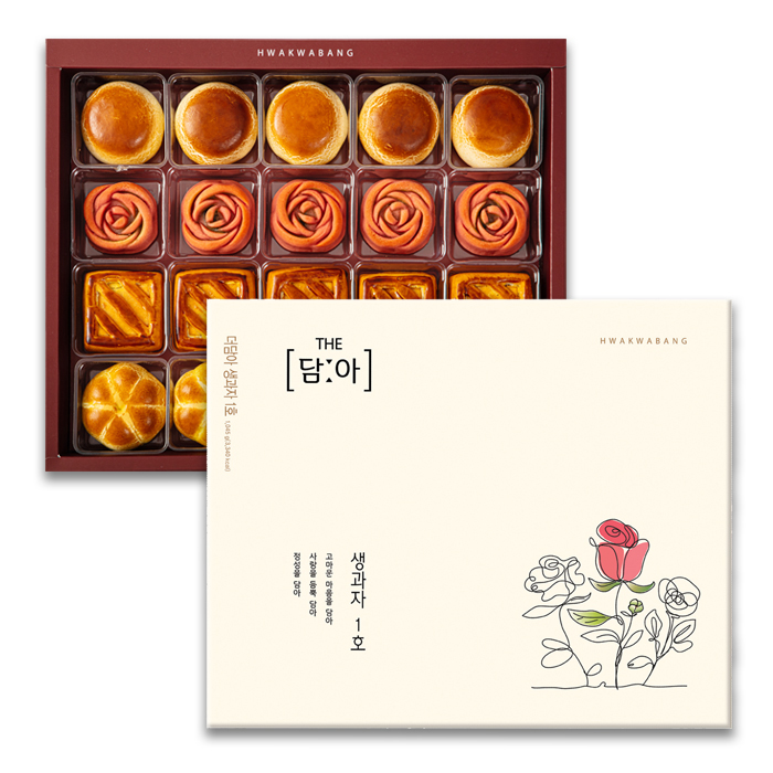 화과방 더담아생과자1호+쇼핑백, 1045g, 1세트