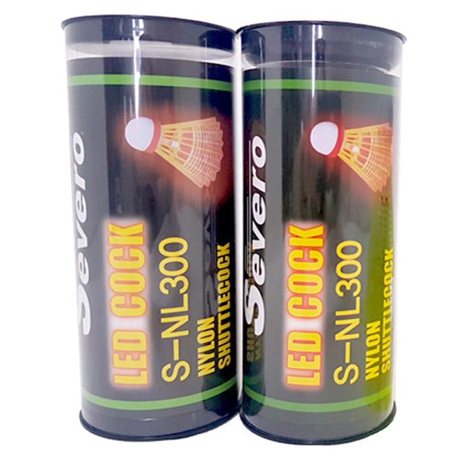 세베로 야광 나일론 셔틀콕 3p S-NL300, 혼합 색상, 2개