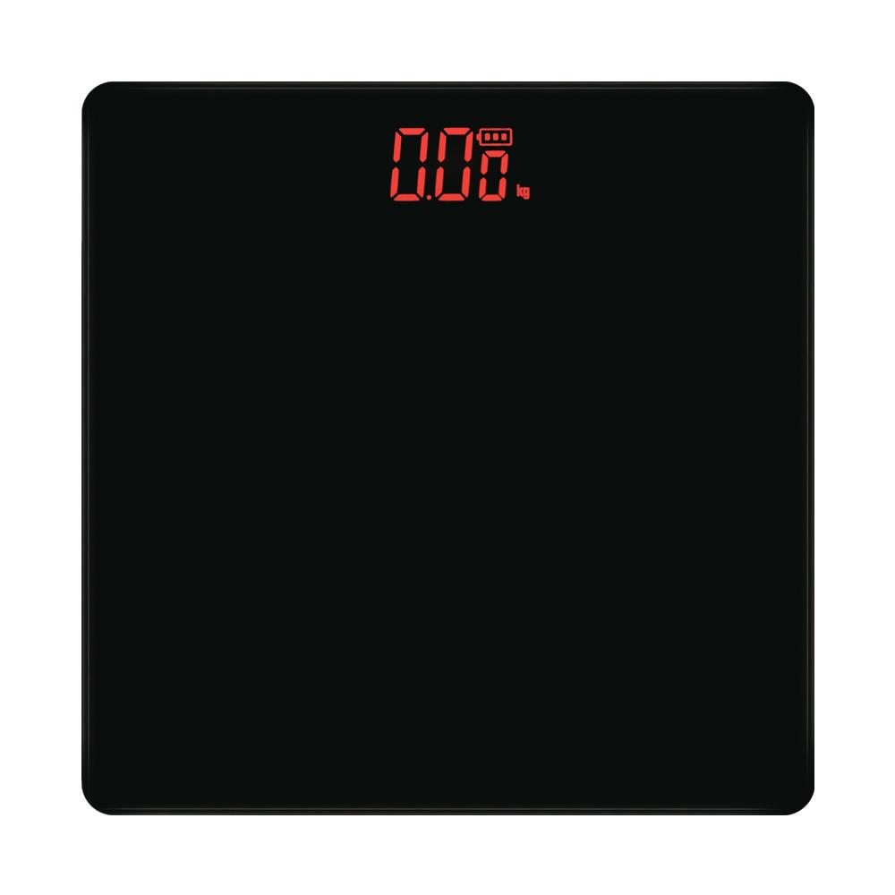 노바리빙 디지털 LED 모던 체중계, 블랙