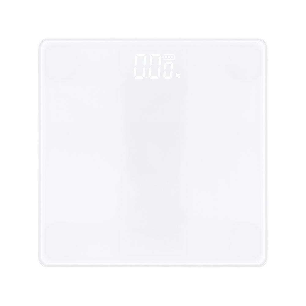 노바리빙 디지털 LED 모던 미니 체중계, 스노우 화이트