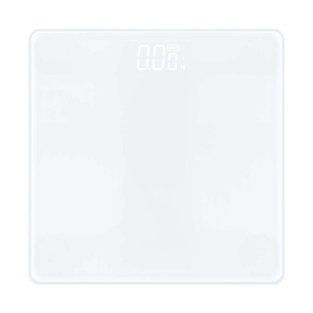 노바리빙 디지털 LED 모던 체중계, 단일 상품, 스노우 화이트