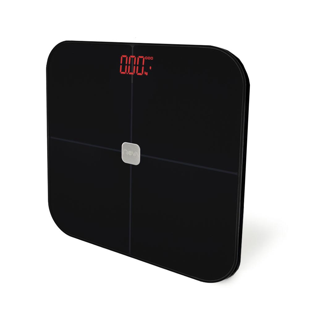 노바리빙 플러스 스마트 인바디 체중계, 블랙