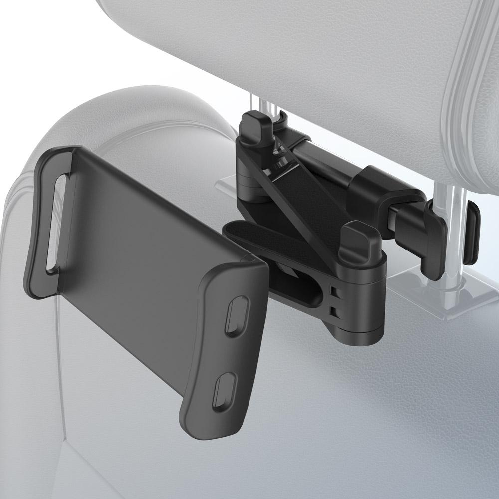 홈플래닛 차량 뒷좌석 헤드레스트 폰 패드 태블릿 스마트폰 거치대, 1개