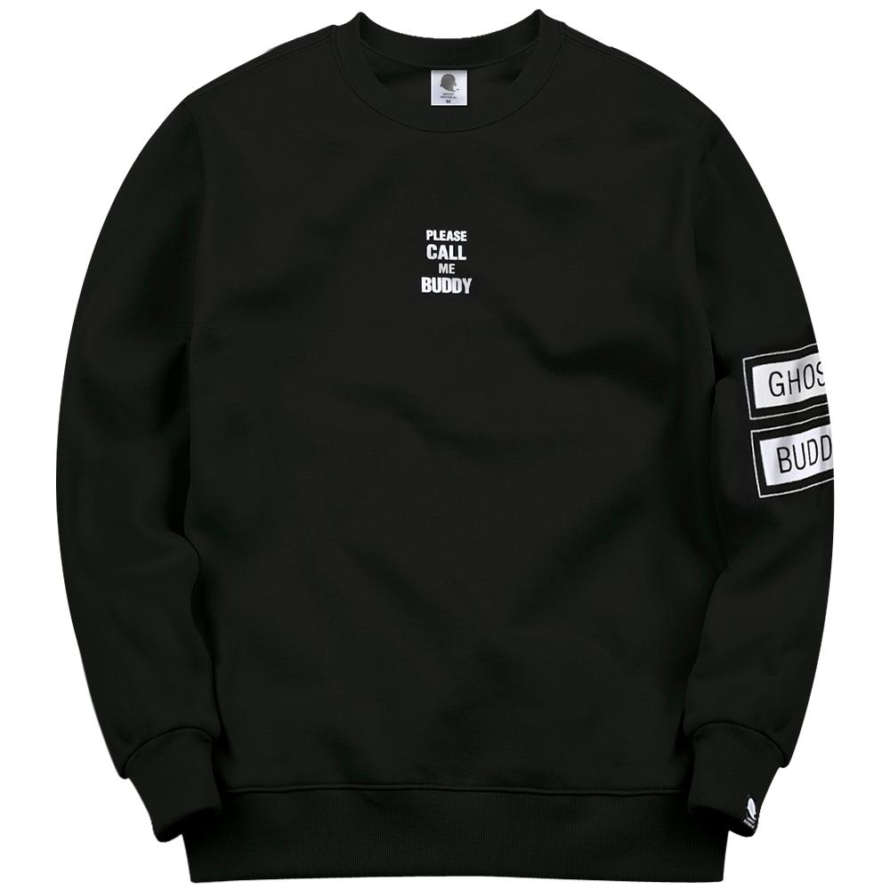 고스트리퍼블릭 암 밴드 프린팅 맨투맨 티셔츠 GMT-167