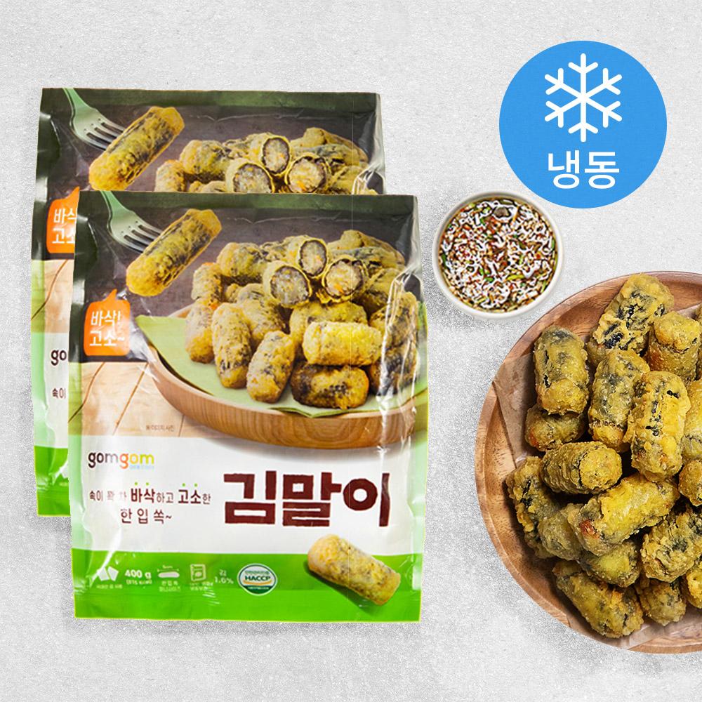 곰곰 김말이 (냉동), 400g, 2개