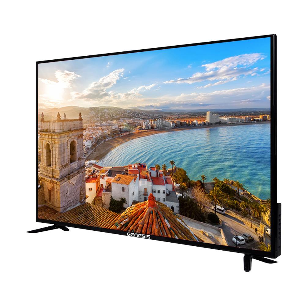 제네시스 UHD 139cm TV 자가설치 GS550UHD + HDMI 케이블, 스탠드형