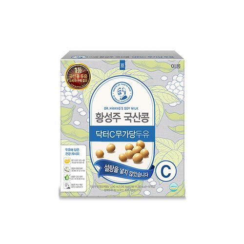 이롬 황성주 국산콩 닥터C무가당두유, 190ml, 16개입