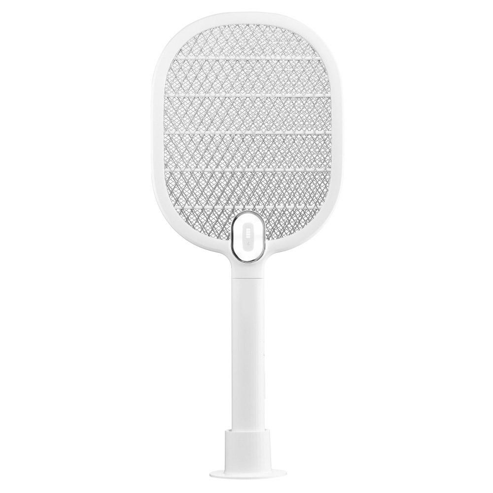 굿픽스 블러썸 충전식 전기모기채, 화이트