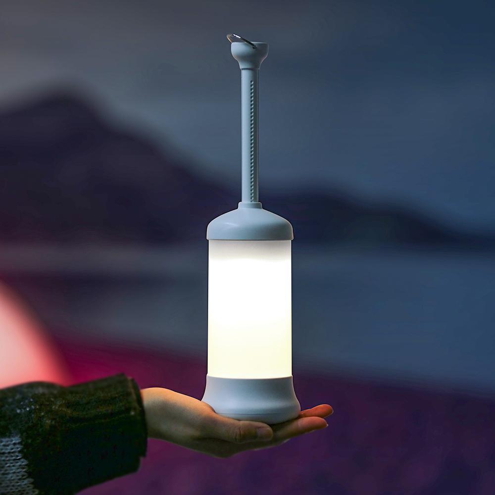 코멧 LED 충전식 무선 캠핑 랜턴, 1개-2-4702806237