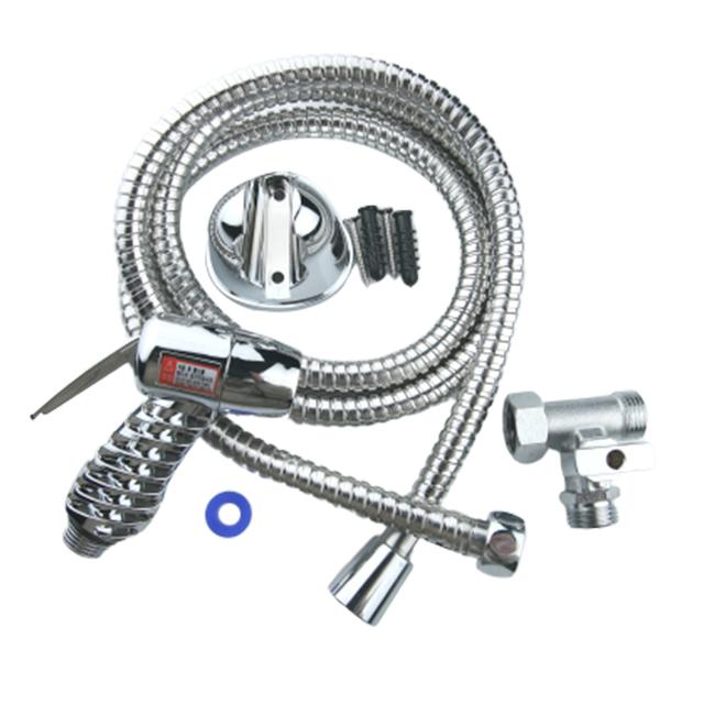금속 + ABS 청소 수전 스프레이건 세트 1.5m, 1세트