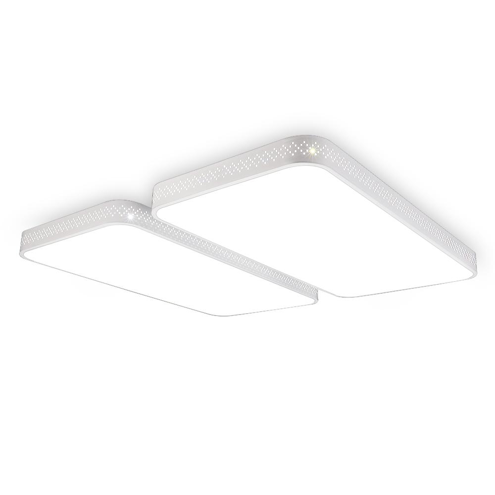 [LED 거실등] LED 타공 거실 4등 120W, 화이트 - 랭킹80위 (79900원)