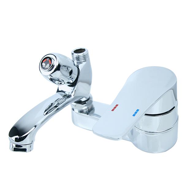 세면 샤워 겸용수전 금속 ABS DS-460, 1개