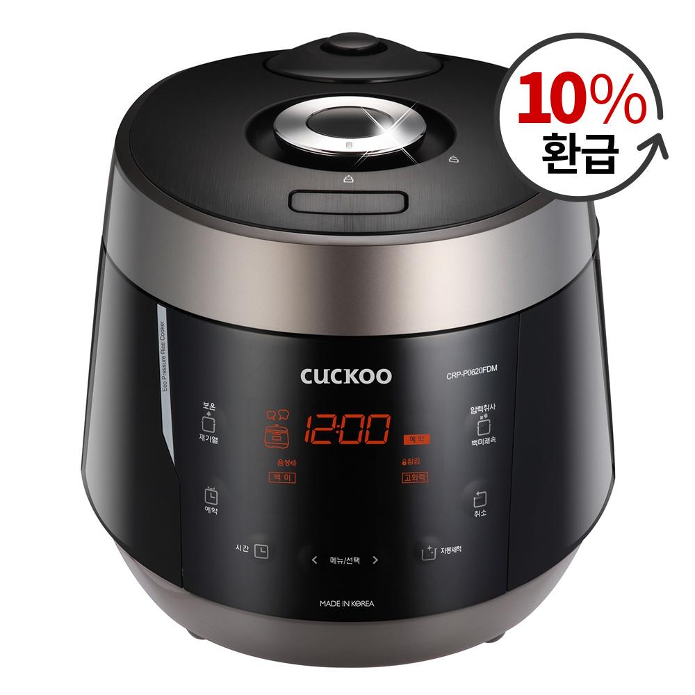 쿠쿠 전기압력밥솥 6인용 CRP-P0620FDM