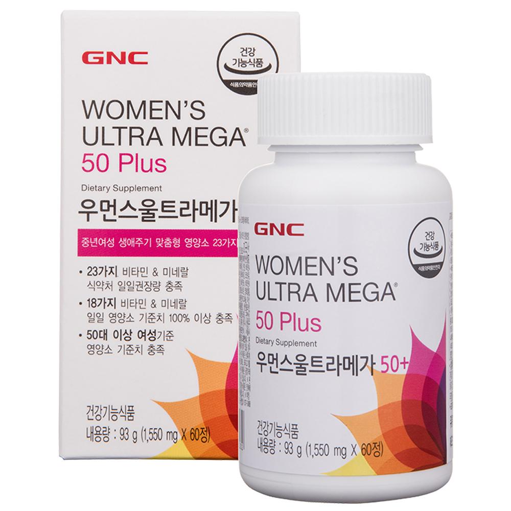 GNC 우먼스 영양제, 60정, 1개