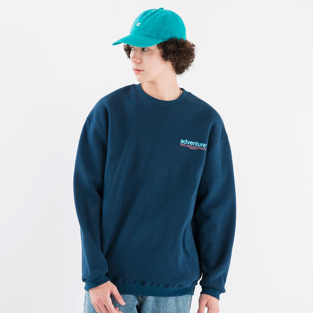 플루크 클린워터 맨투맨 티셔츠 FMT309