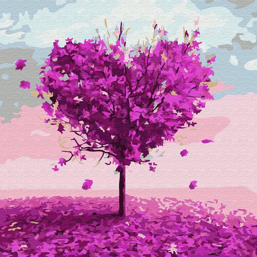 아트조이 DIY 명화그리기 물감 + 붓 세트 30 x 30 cm, 사랑나무