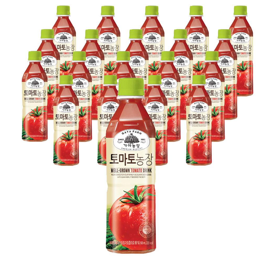가야농장 토마토농장 500ml, 20페트