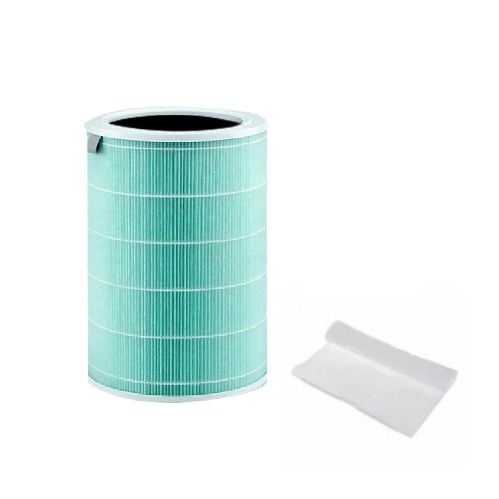 이츠라이프 샤오미 미에어 PRO/1/2/2s 호환 공기청정기 나노 필터 그린 항균형
