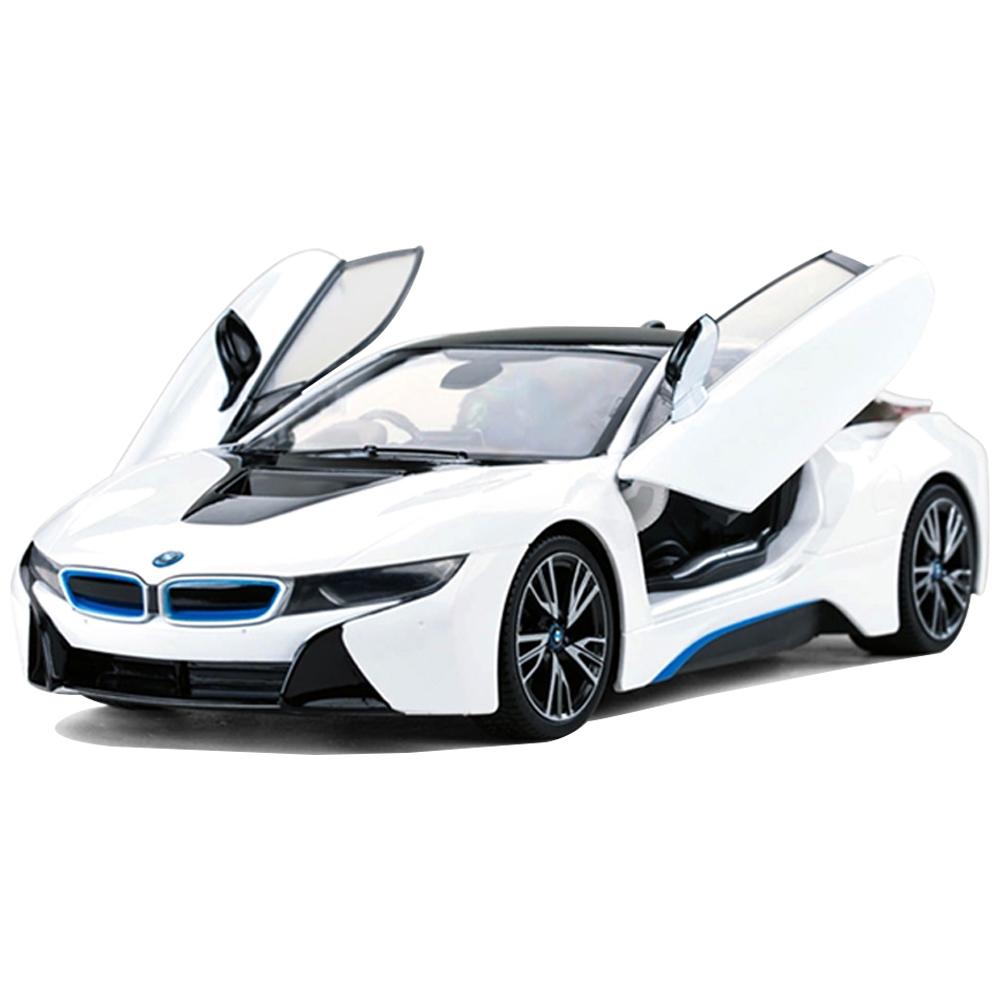 라스타 1:14 BMW I8 도어오픈 RC카, 화이트