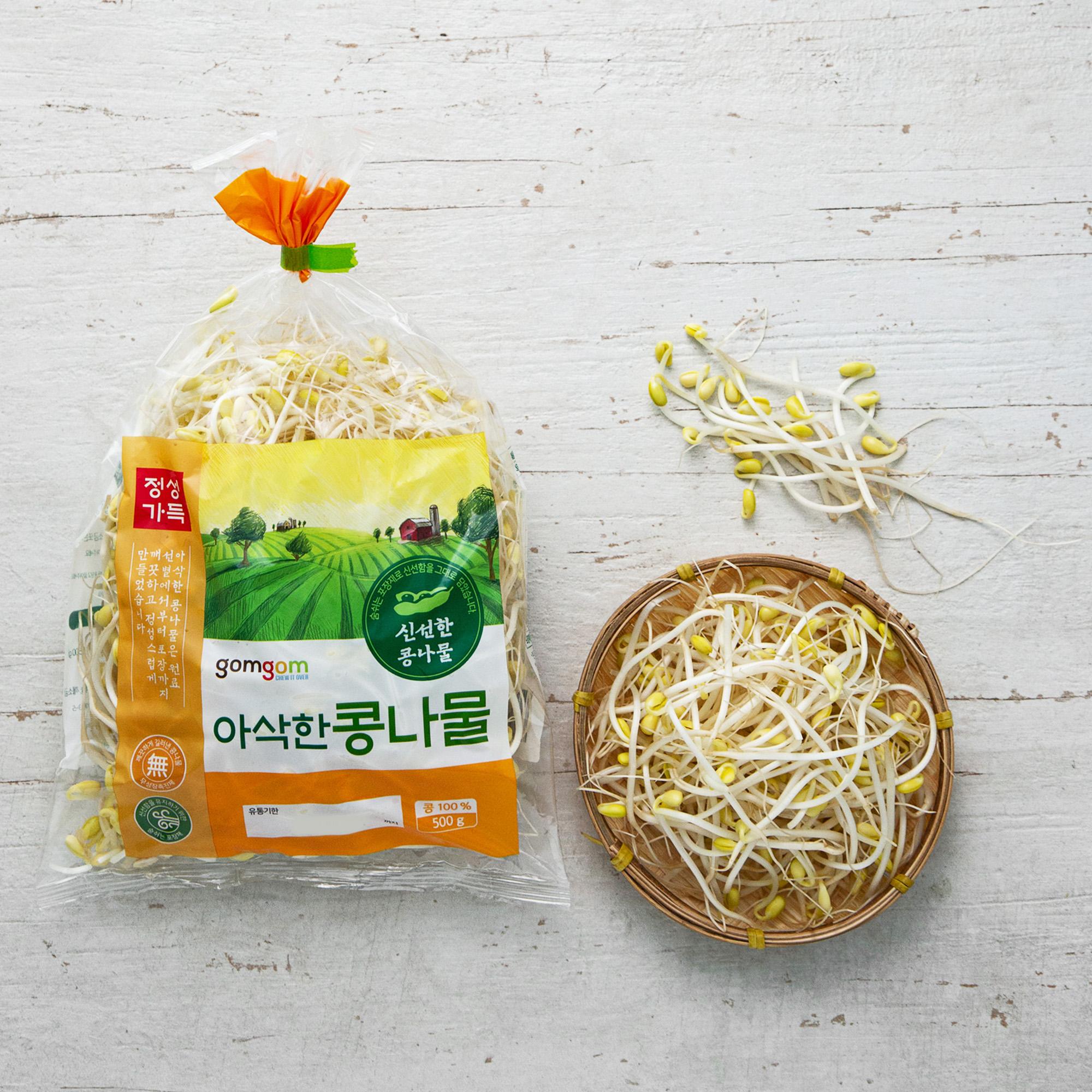 곰곰 아삭한 콩나물, 500g, 1봉