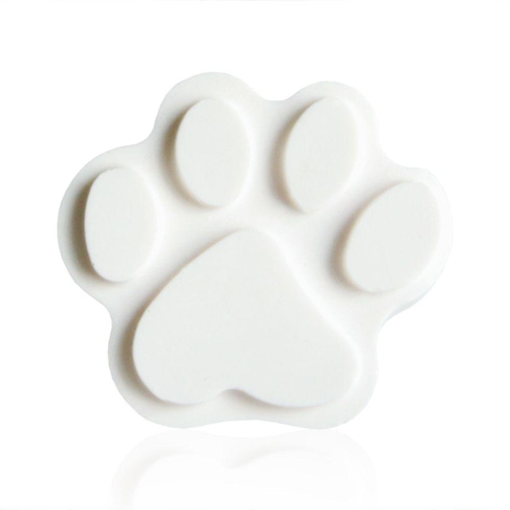 버블메이드 강아지 야광 주머니 석고방향제, 화이트머스크
