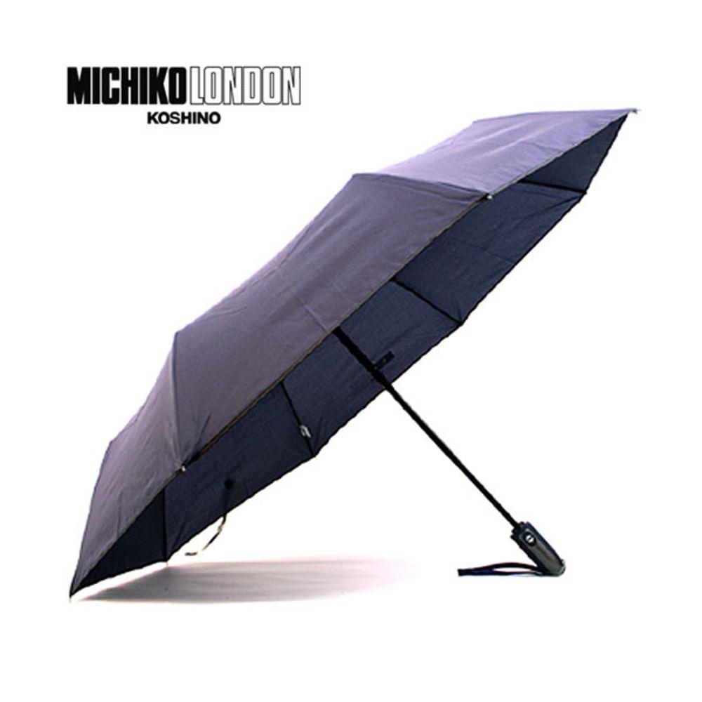 미치코런던 바이어스 3단 완전자동우산