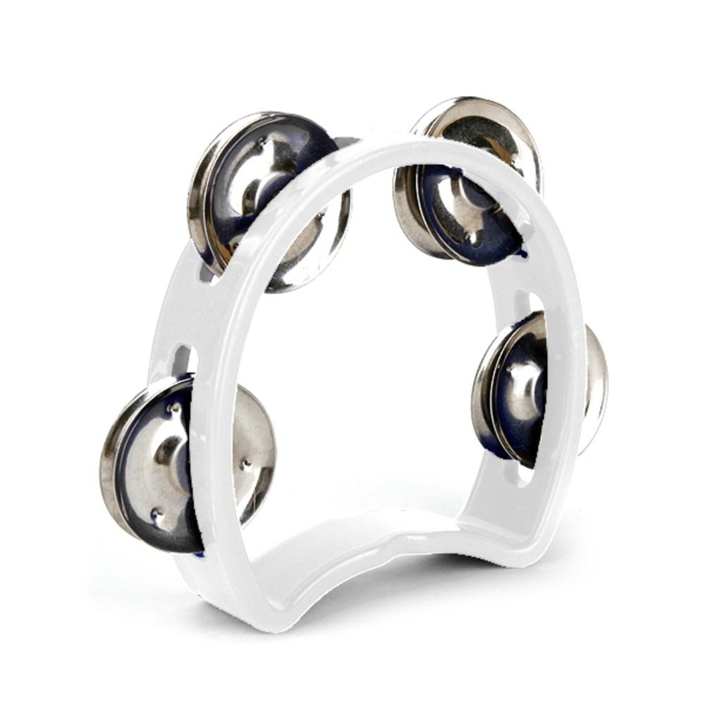 리베라 MT5 키즈 탬버린, 흰색