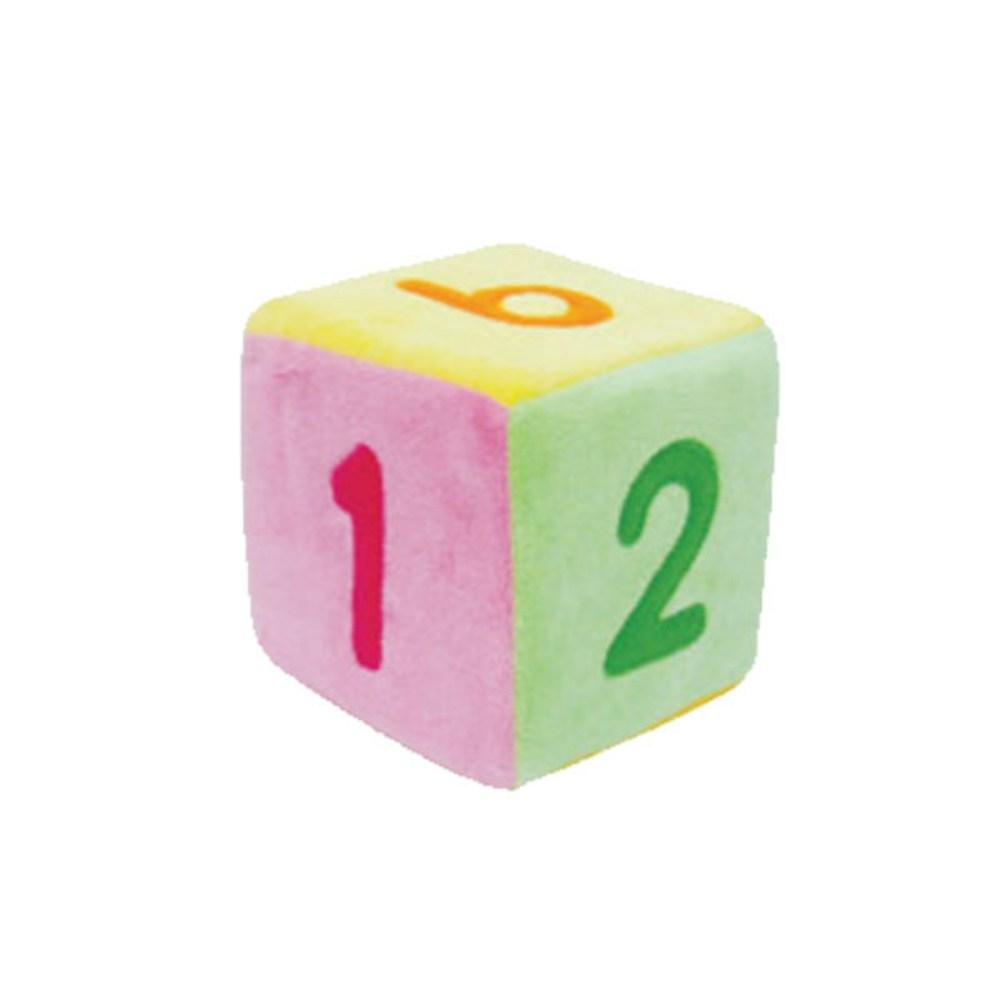 청양토이 숫자 주사위 소, 혼합 색상, 1개